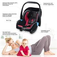 Recaro Kindersitz Babyschale Privia ECE Gruppe 0 0 Design 2015 Graphite 10708 1 Detailansicht 01