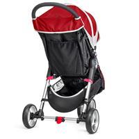 baby jogger CityMini3 Buggy 2016 CrimsonGray Grosses Korbnetz Aufbewahrungsfach am Sitz Detaillierte