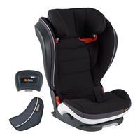 BeSafe Kindersitz iZi Flex FIX i-Size Design 2018 Midnight Black Melange