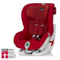 Britax Römer King II ATS | Kleinkind Kindersitz mit ATS --> Gurt-Sicherungssystem mit Licht- und Ton