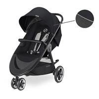 Cybex Kinderwagen Agis M-Air 3 Design 2018 Lavastone Black | Black