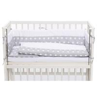 Fillikid Bettset Cocon Dots Grau