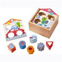 Haba Spielzeug Sortierbox ab in die Werkstatt