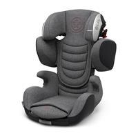 Kiddy Kindersitz Cruiserfix 3 Grey Melange Hot Red