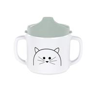 Lässig Becher Dish Cup Melamine/Silicone Little Chums Cat