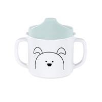 Lässig Becher Dish Cup Melamine/Silicone Little Chums Dog