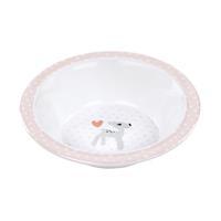 Lässig Schüssel Dish Bowl Melamine/Silicone Lela light pink