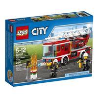 Lego City Feuerwehrfahrzeug mit fahrbarer Leiter 6 Hauptbild