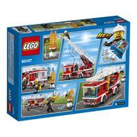 Lego City Feuerwehrfahrzeug mit fahrbarer Leiter 6 Detailansicht 01