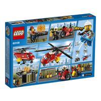 Lego City Feuerwehr Löscheinheit 60108 Detailansicht 01