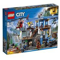 Lego City Spielzeug Hauptquartier der Bergpolizei 60174