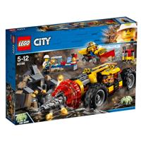 Lego City Schweres Bohrgerät für den Bergbau 60186