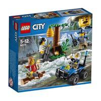 Lego City Spielzeug Verfolgung durch die Berge 60171