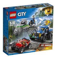 Lego City Spielzeug Verfolgungsjagd auf Schotterpisten 60172
