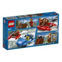 Lego City Spielzeug Flucht durch die Stromschnellen 60176
