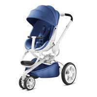 Quinny Kinderwagen Moodd Design 2017 Blue Base White
