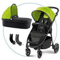 Recaro Citylife Kombikinderwagen mit Buggy und Babywanne Lime