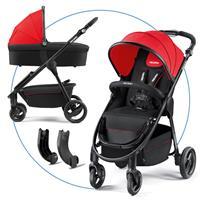 Recaro Citylife Kombikinderwagen mit Buggy und Babywanne Ruby