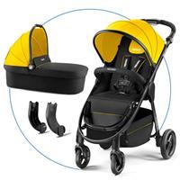 Recaro Citylife Kombikinderwagen mit Buggy und Babywanne Sunshine