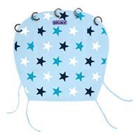 Xplorys Dooky Sonnensegel für Kinderwagen & Babyschale Star Blue