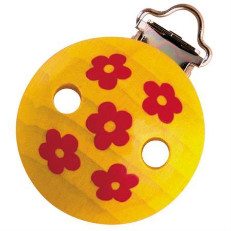 Haba Holzclips Tralala gelb Blumen
