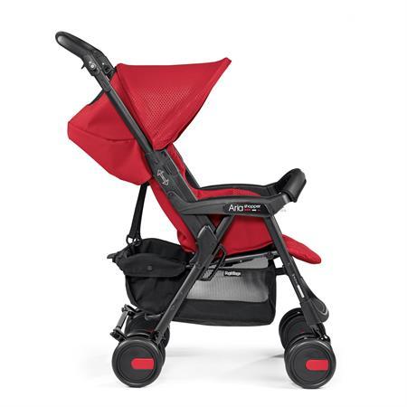 Peg Perego Aria Shopper Mod Red Seite