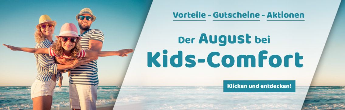 Der August bei Kids-Comfort