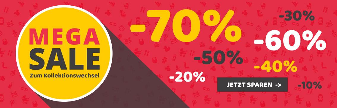 Sichern Sie sich nun bis zu 70% Rabatt beim Kids-Comfort Mega Sale!