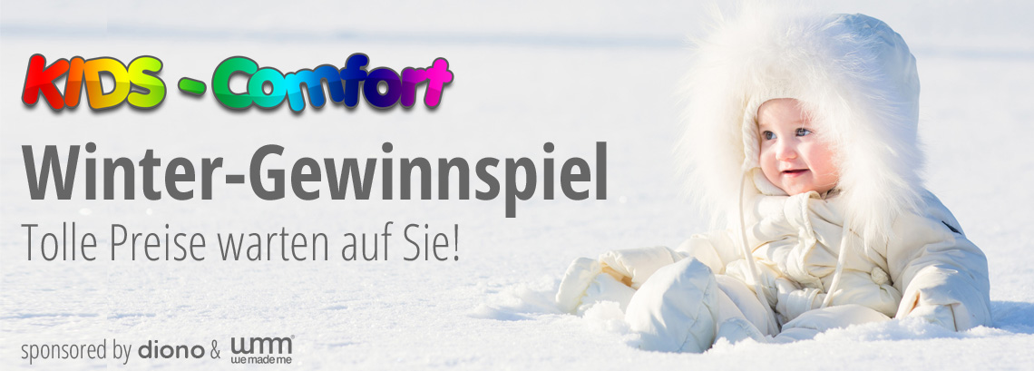 KidsComfort Winter-Gewinnspiel sponsored by diono & we made me