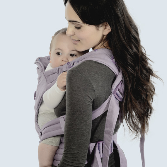 KidsComfort Winter-Gewinnspiel: We made me Babytrage Illusion Classic Lavender