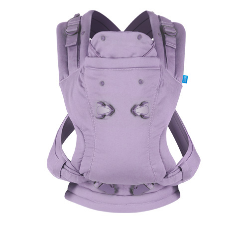KidsComfort Winter-Gewinnspiel: Babytrage We made me Illusion Classic Lavender ab Geburt